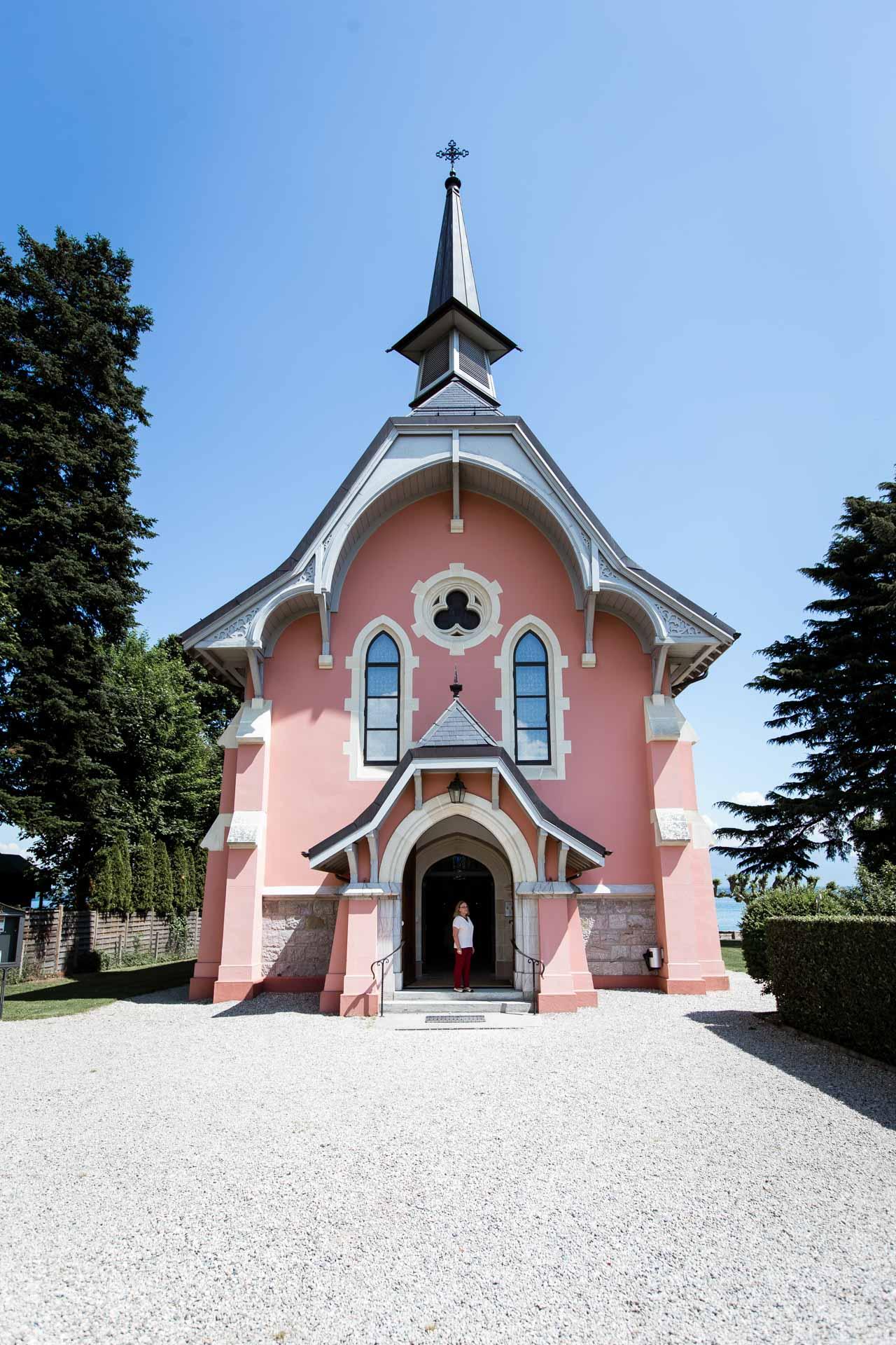 Mariage Coppet eglise Saint Robert
