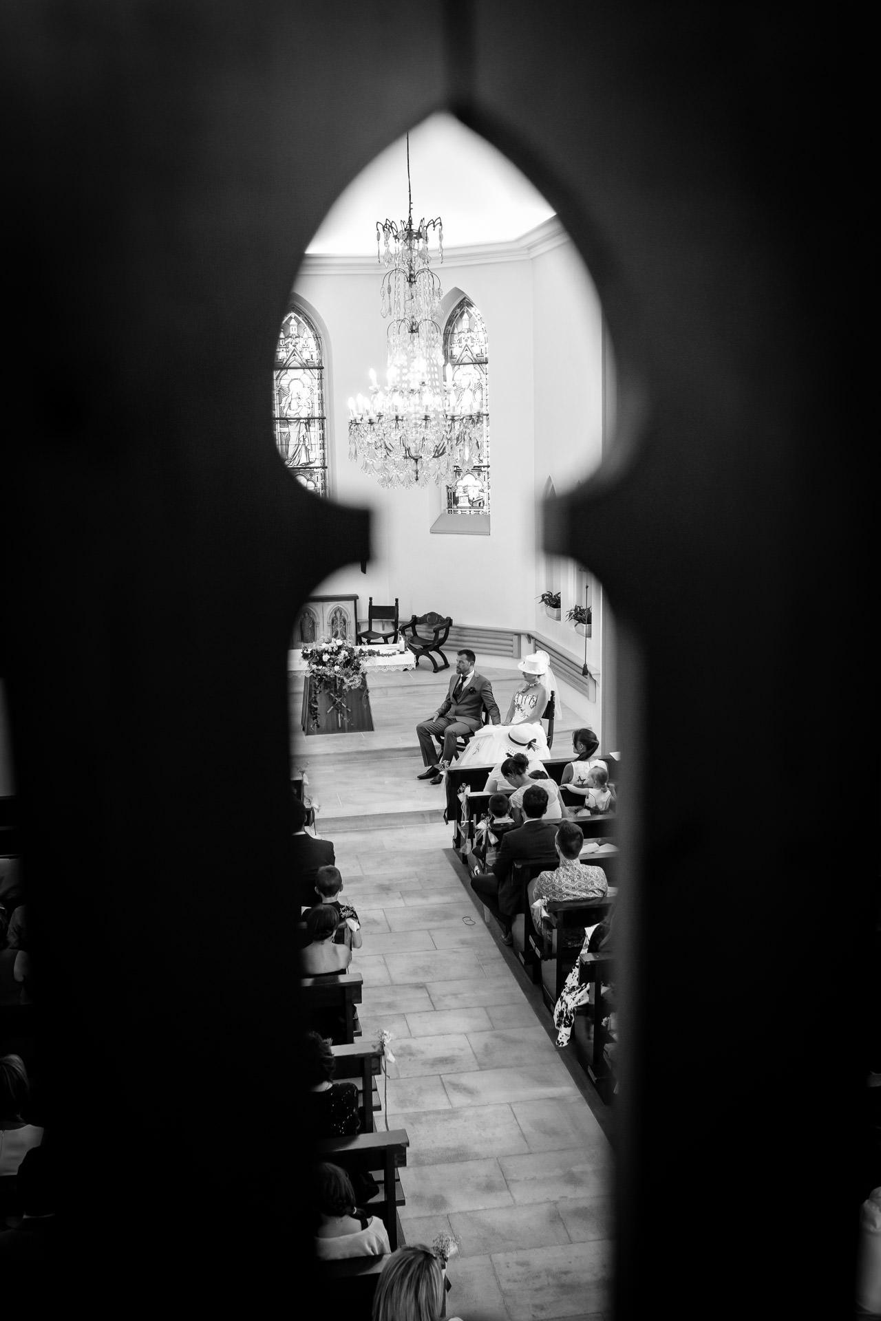 Mariage Coppet eglise Saint Robert a travers