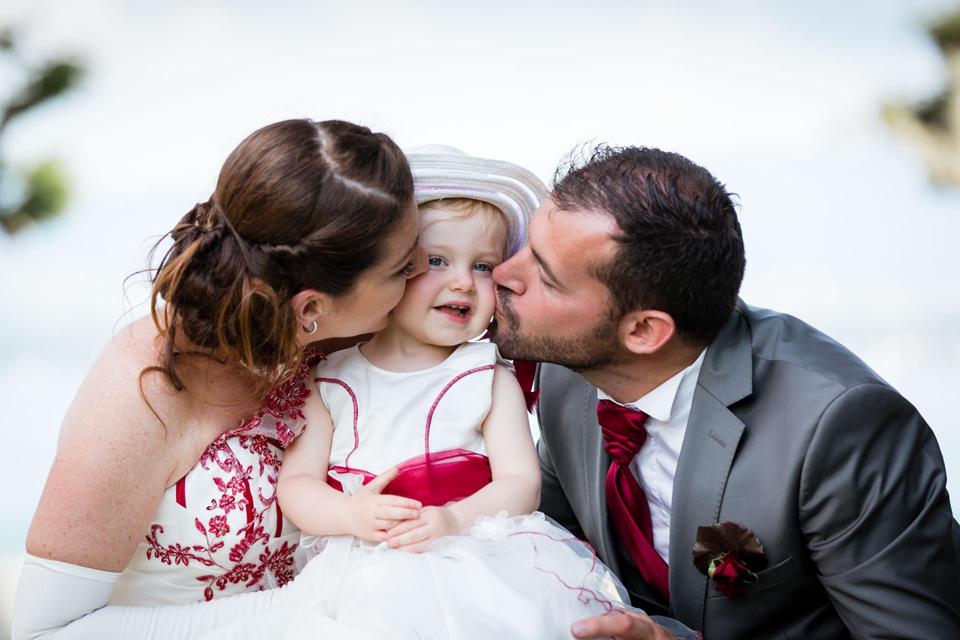 Mariage Coppet eglise Saint Robert enfants