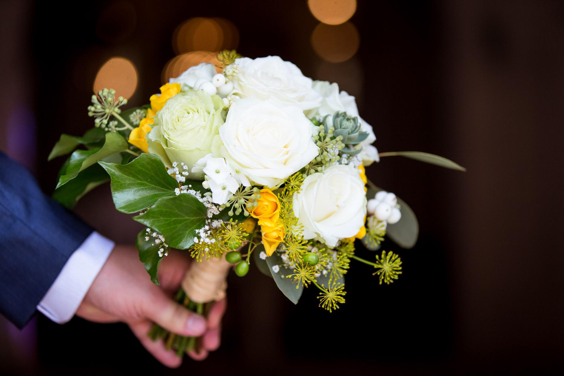 gros plan du bouquet de fleur