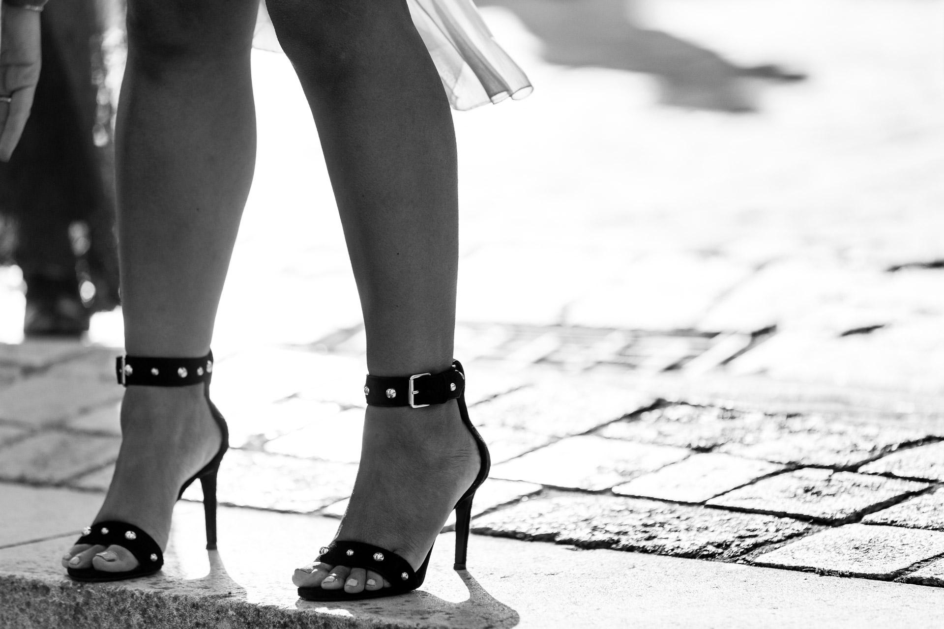 de jolies jambes et talons