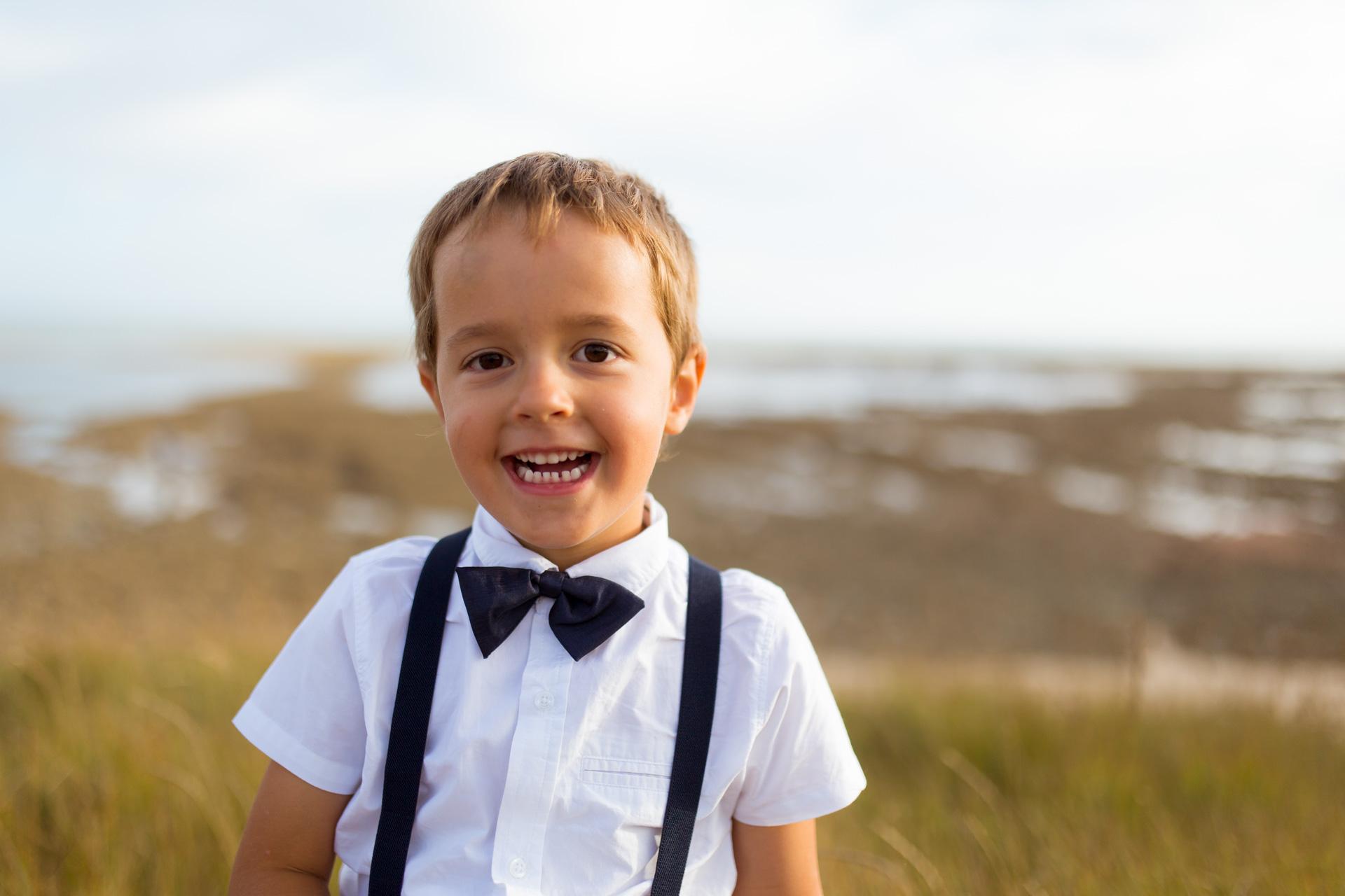 jeune homme souriant a la point de Grignon