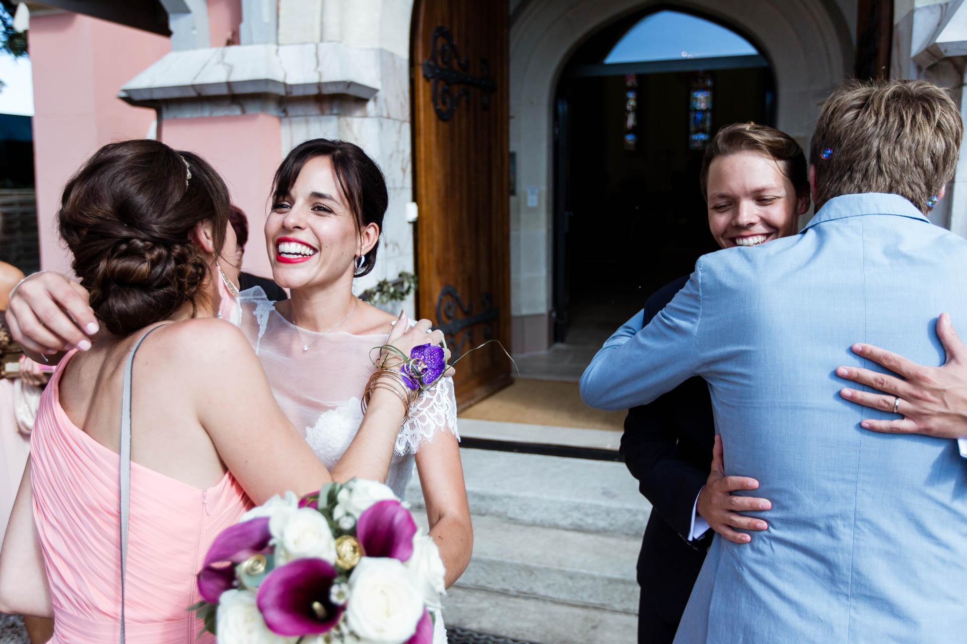 Eglise Saint Robert mariage Coppet - Photographe Mariage