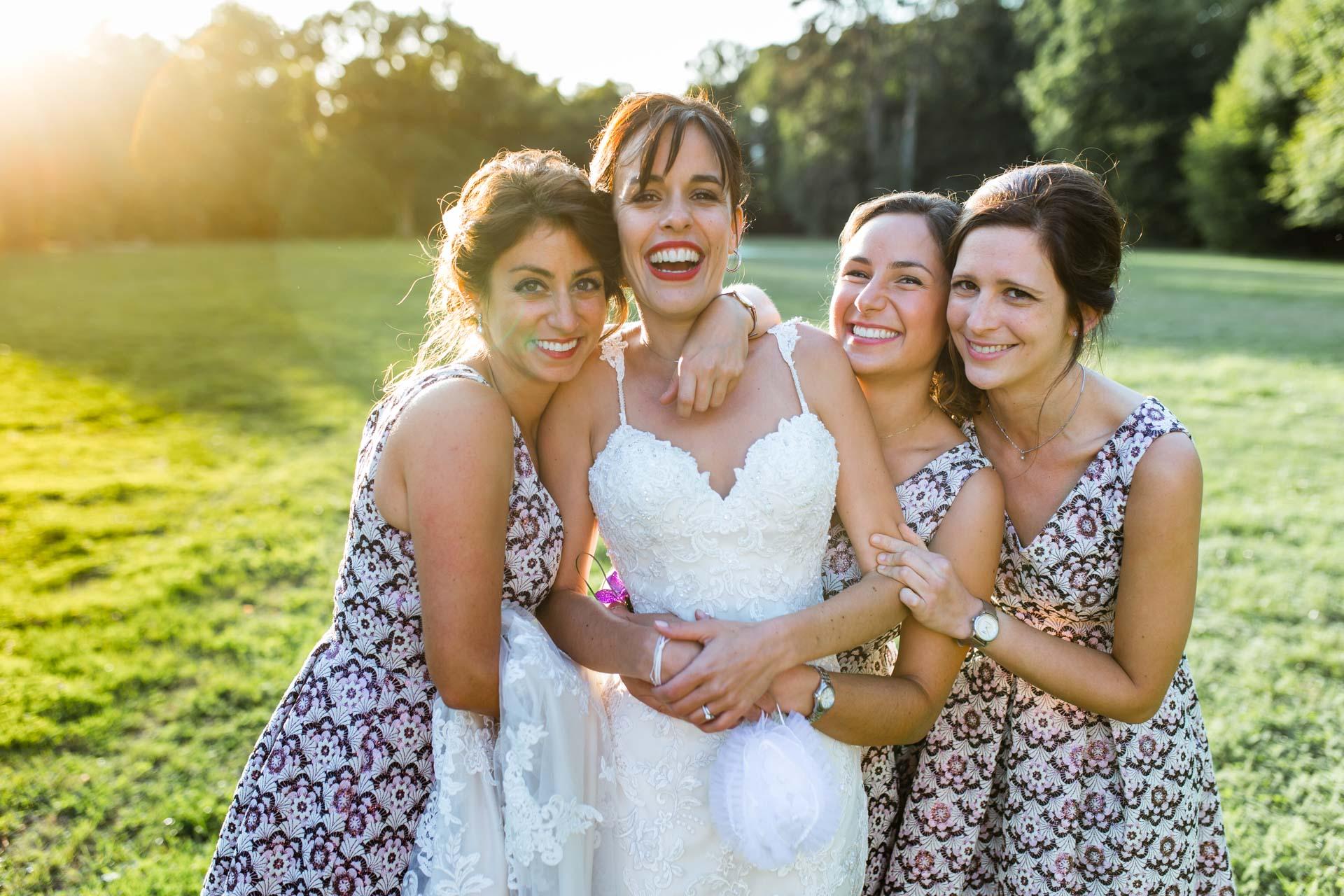 Les filles Chateau de coppet - Photographe Mariage