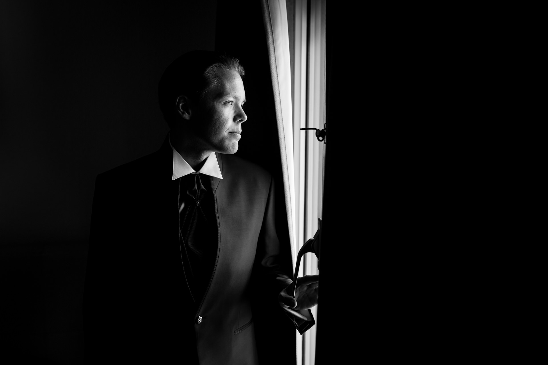 Preparatif portrait marie Geneve - Photographe Mariage