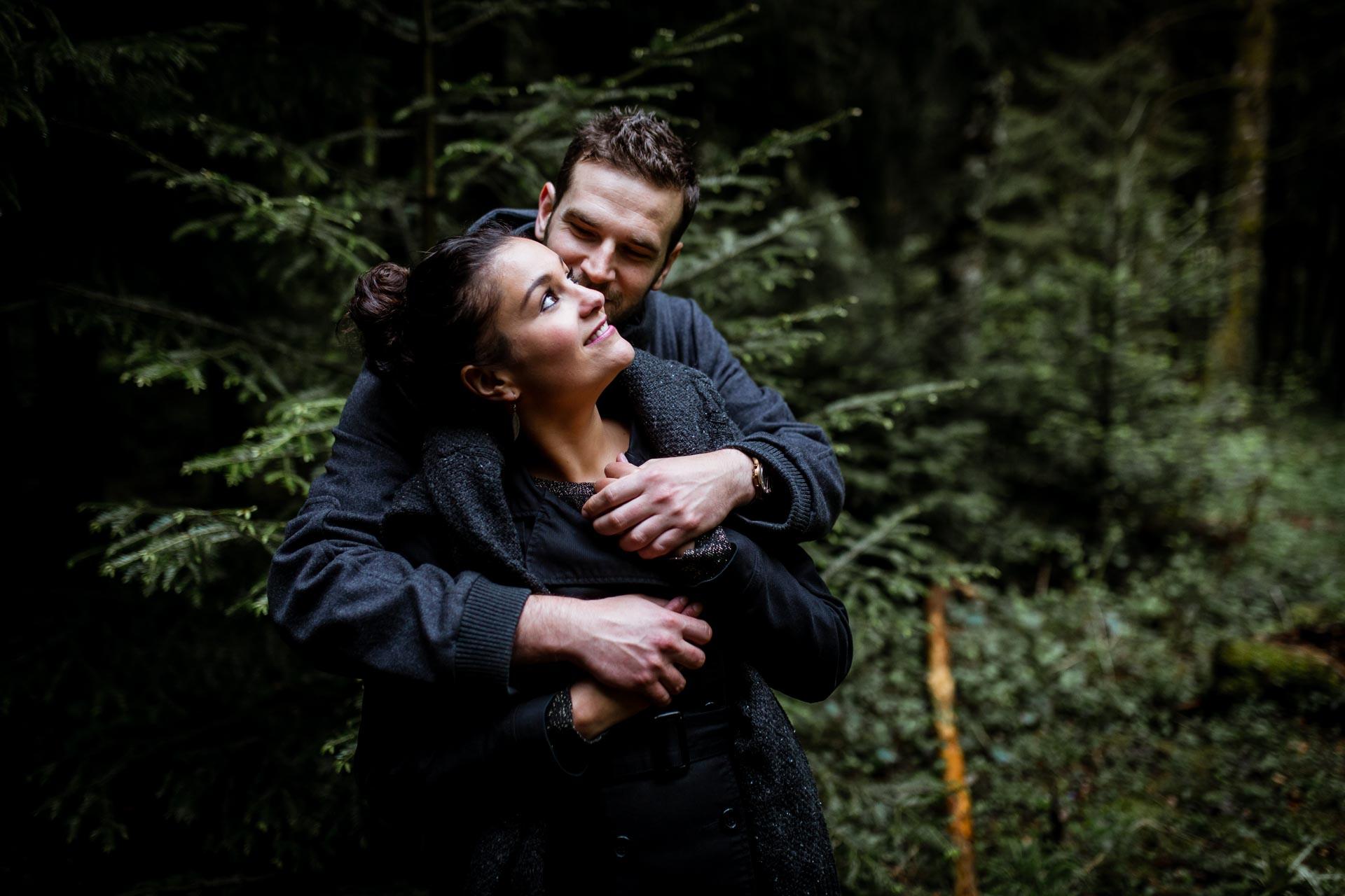 Amoureux tendres et intimes au Creux de l'envers