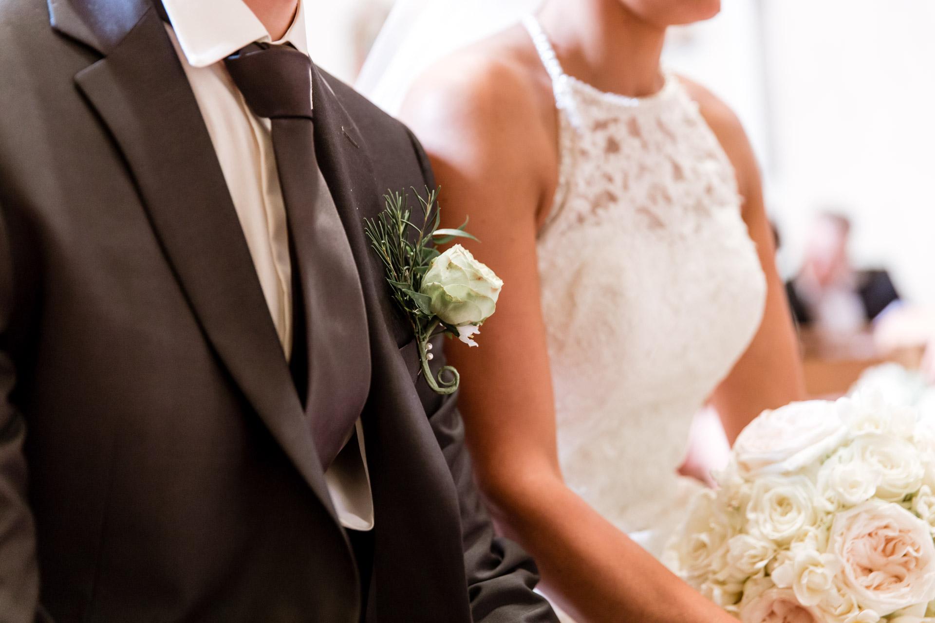 Mariage de Mallorye et Nicolas. Gros Plan l'eglise de Cessy