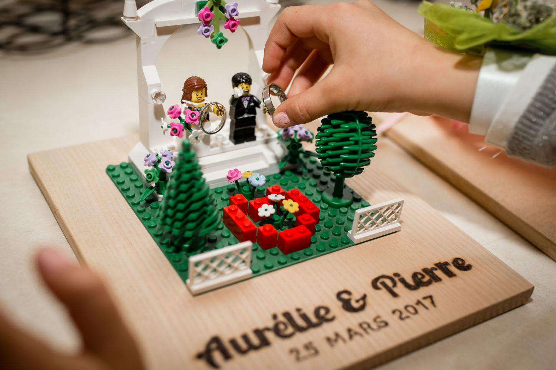 les alliances en Lego Mariage Laique Besançon