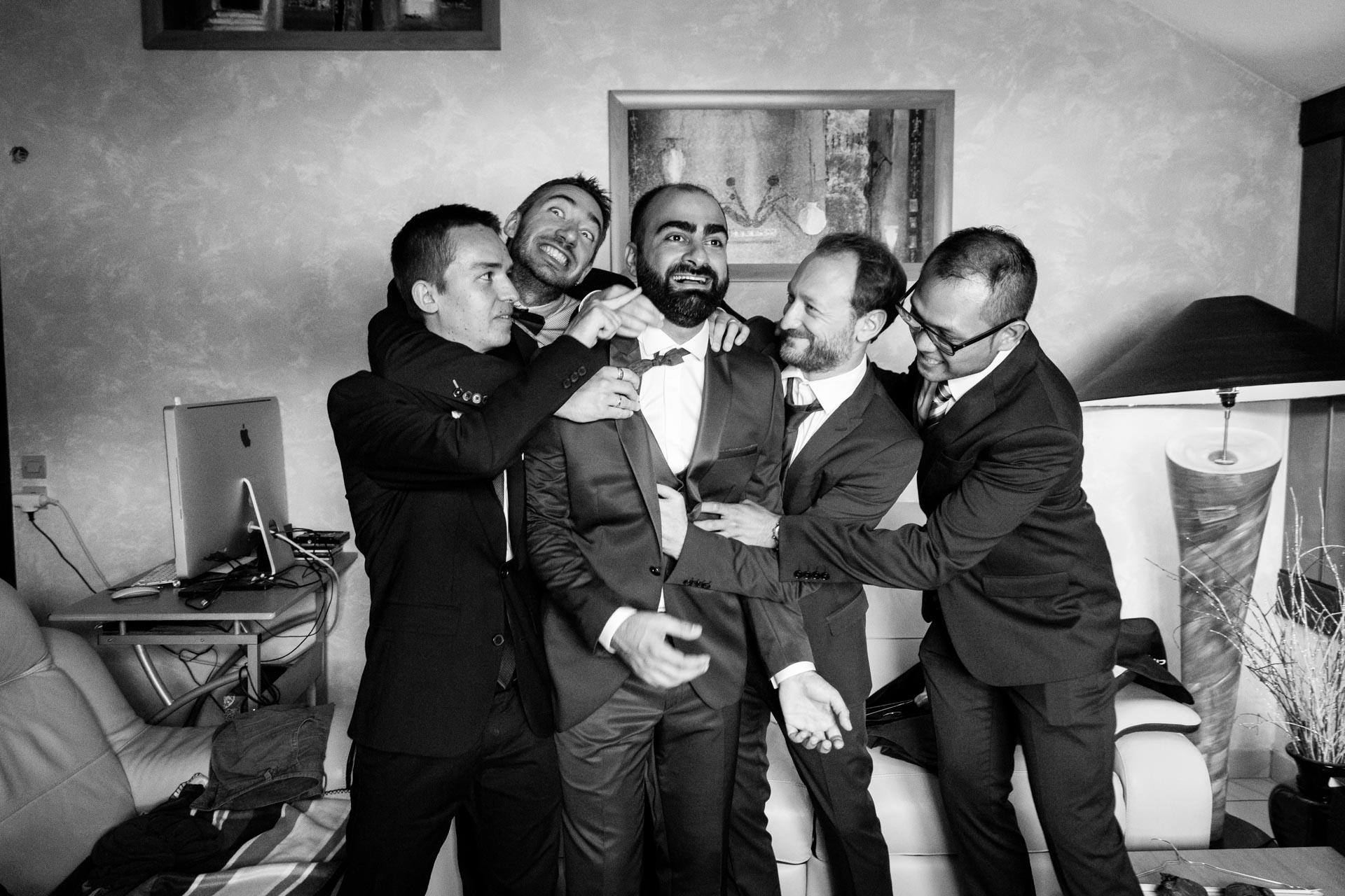 Mariage Mont Saxonnex groom