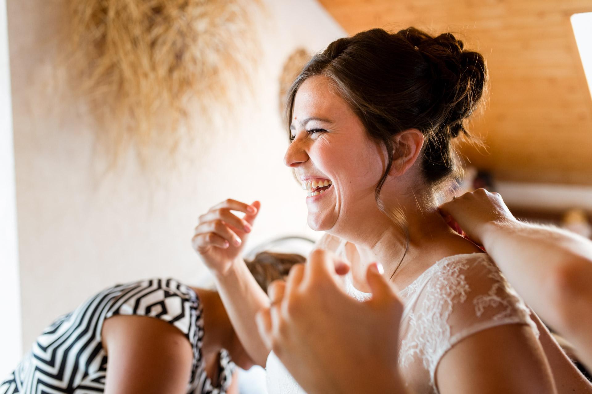 Mariage Mont Saxonnex sourires