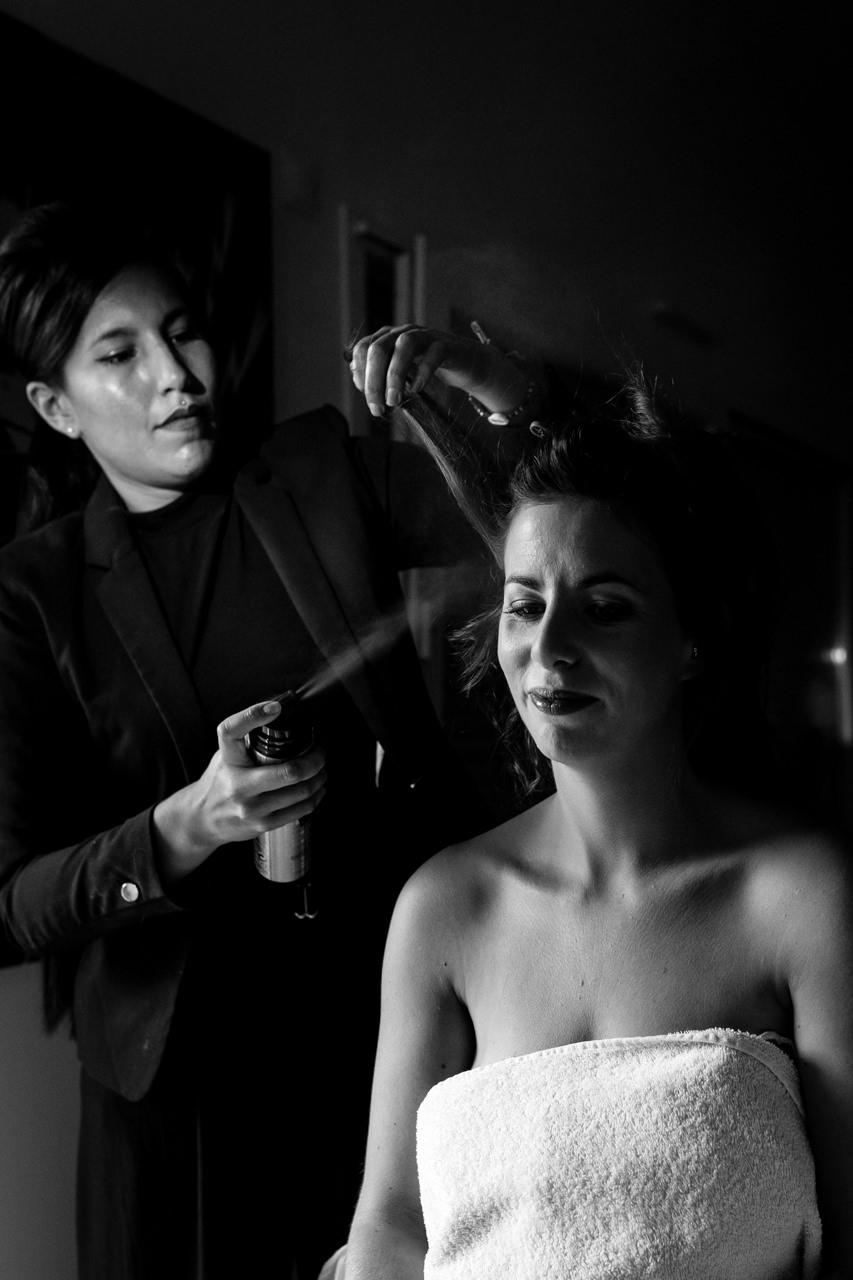 Photographe de Mariage Rock la coiffure