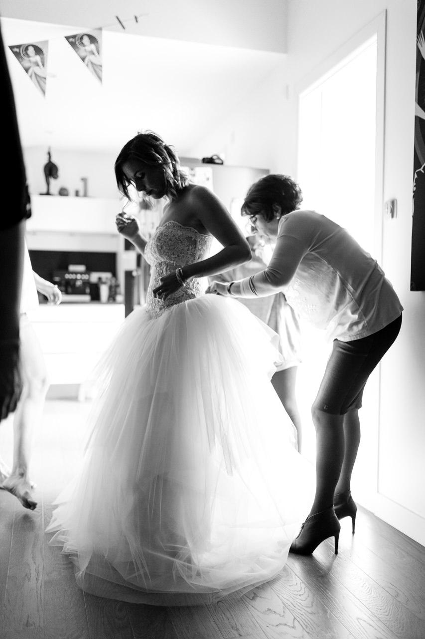 Photographe de Mariage Rock habillage noir et blanc