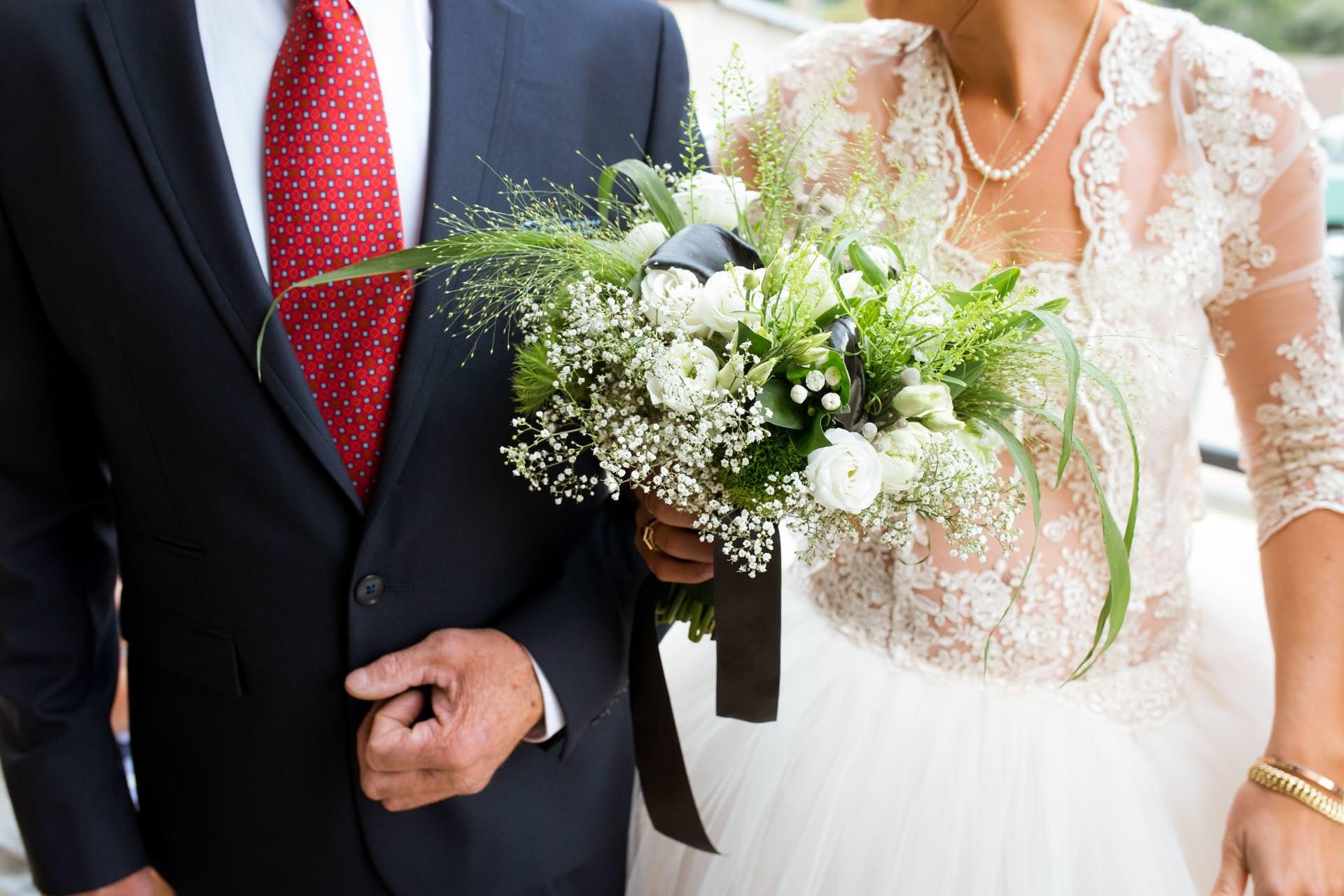 Photographe de Mariage Rock bouquet de fleurs