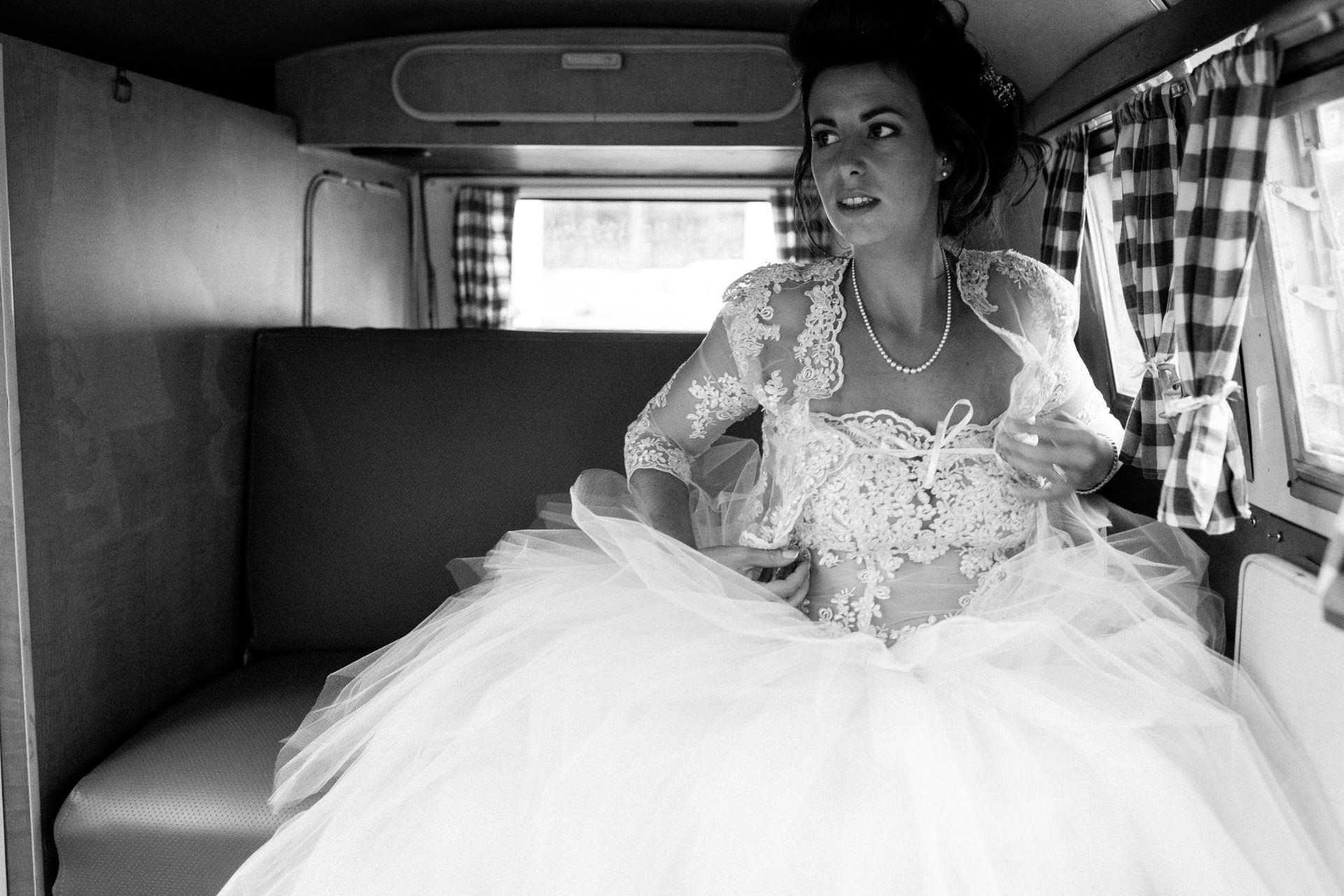Photographe de Mariage Rock combi Vw glamrock