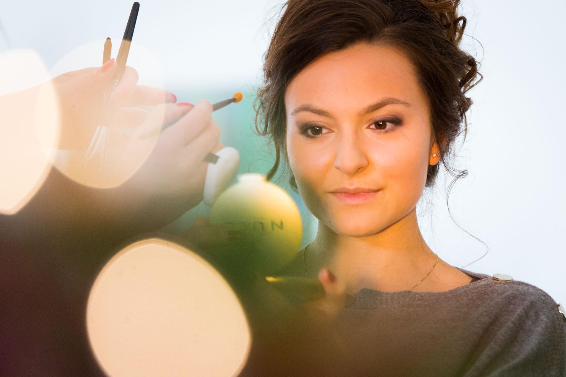Photographe de Mariage Rock maquillage effet