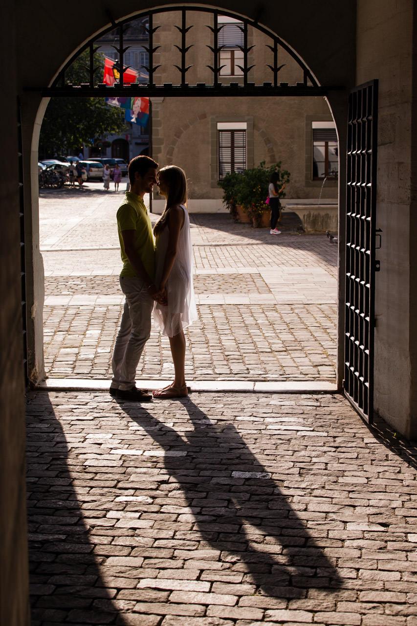 Ambiance Couple Seance Chateau de Nyon